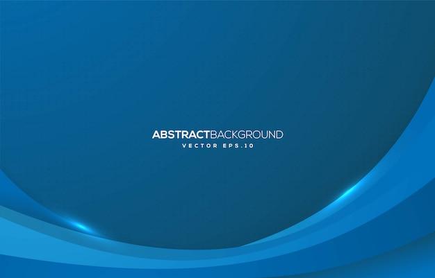Diseño de fondo abstracto de la onda con concepto moderno