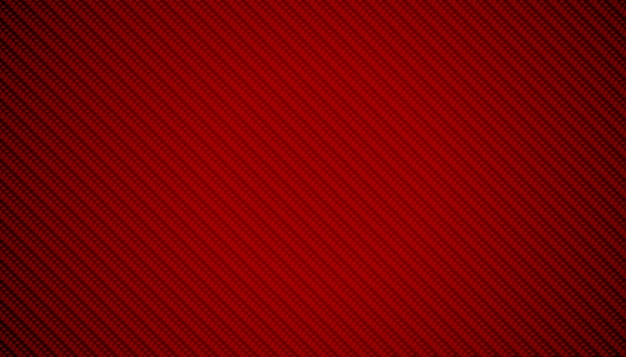Diseño de fondo abstracto rojo fibra de carbono textura