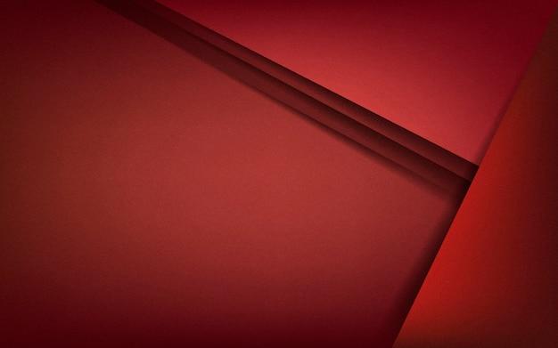 Diseño de fondo abstracto en rojo oscuro