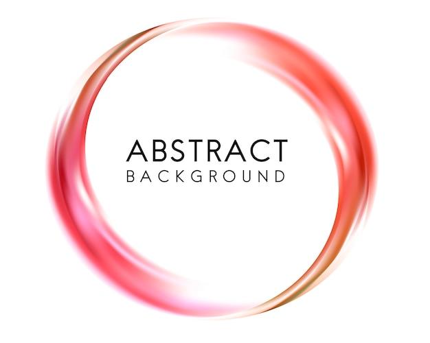 Diseño de fondo abstracto en rojo