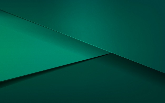 Diseño de fondo abstracto en verde esmeralda