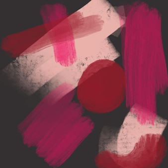Diseño de fondo acuarela pintada a mano abstracta
