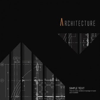 Diseño de fondo de arquitectura