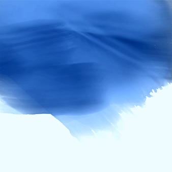Diseño de fondo azul acuarela textura