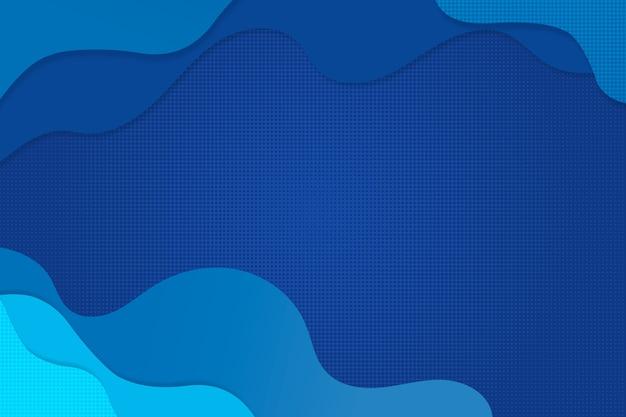 Diseño de fondo azul clásico abstracto
