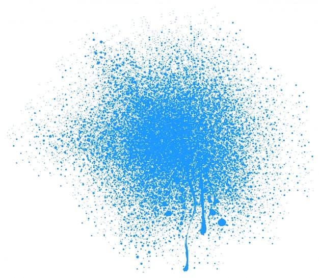 Diseño de fondo azul salpicadura