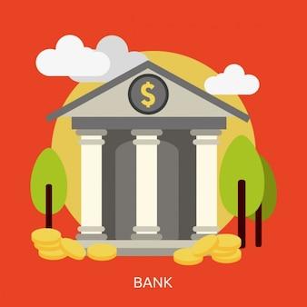 Diseño de fondo de banco