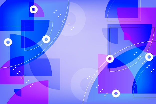 Diseño de fondo degradado abstracto colorido