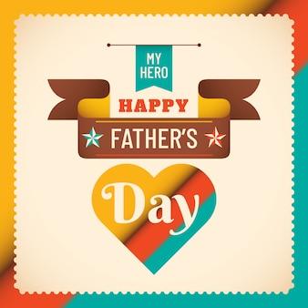 Diseño del fondo del día del padre