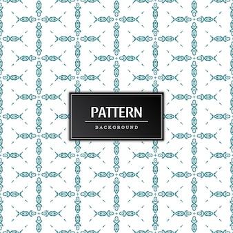 Diseño de fondo de diseño de patrón elegante moderno