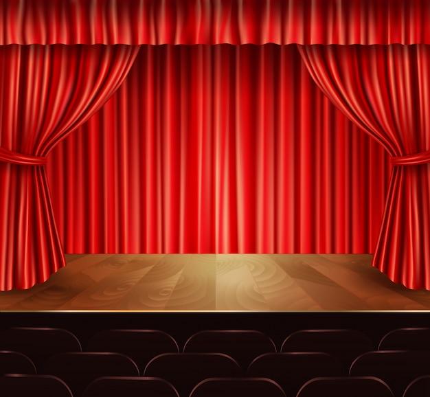 Diseño de fondo de escenario