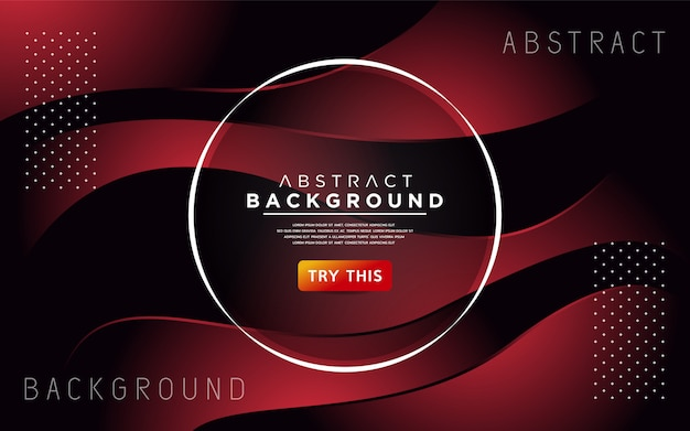 Diseño de fondo de estilo dinámico degradado colorido dinámico. fondo de vector abstracto moderno