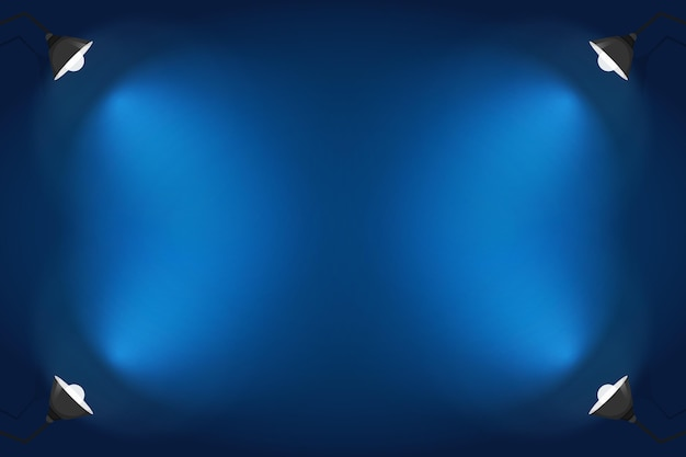 Diseño de fondo de focos