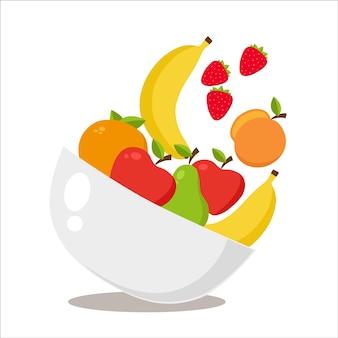 Diseño de fondo de fruta