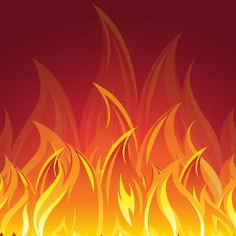 Diseño de fondo de fuego