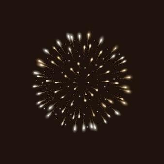Diseño de fondo de fuegos artificiales