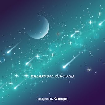 Diseño de fondo de galaxia