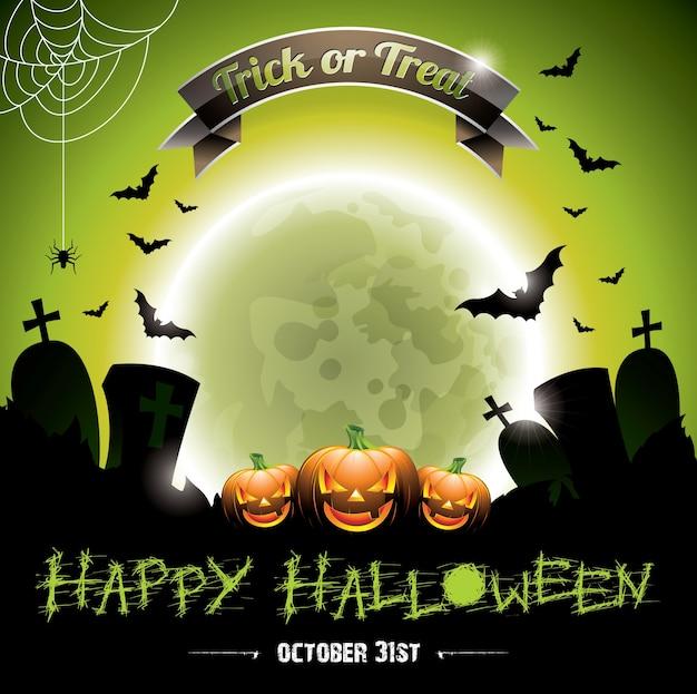 Diseño de fondo de halloween