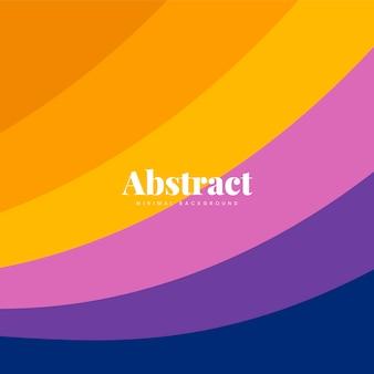 Diseño de fondo de impresión abstracta colorida