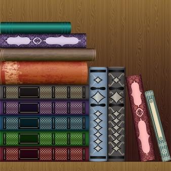 Diseño de fondo de libros