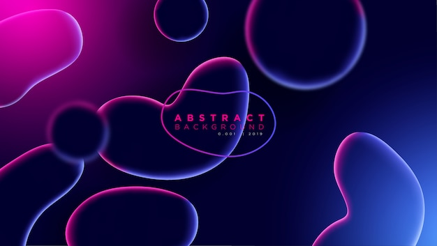 Diseño de fondo líquido abstracto