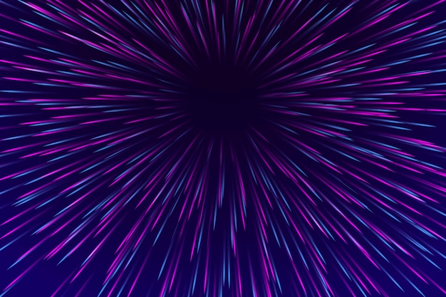 Diseño de fondo de luces de velocidad