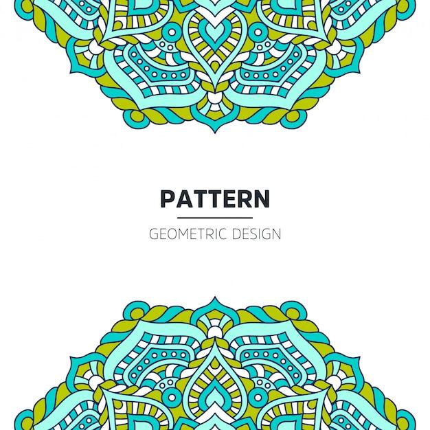 Diseño de fondo mandala