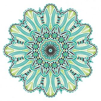 Diseño de fondo de mandala