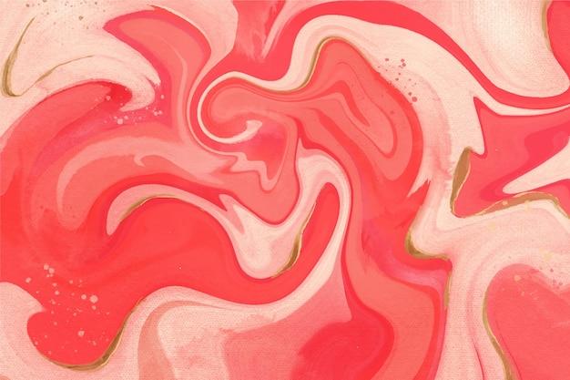 Diseño de fondo de mármol líquido