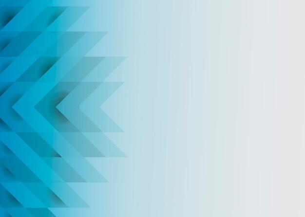 Diseño de fondo moderno azul 3d