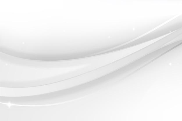 Diseño de fondo monocromático blanco