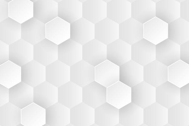 Diseño de fondo de panal minimalista de primer plano