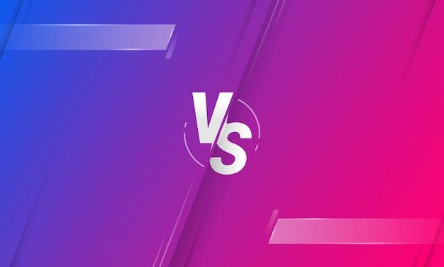 Diseño de fondo de pantalla versus letras