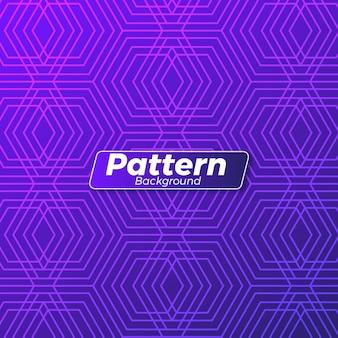Diseño de fondo de patrón abstracto