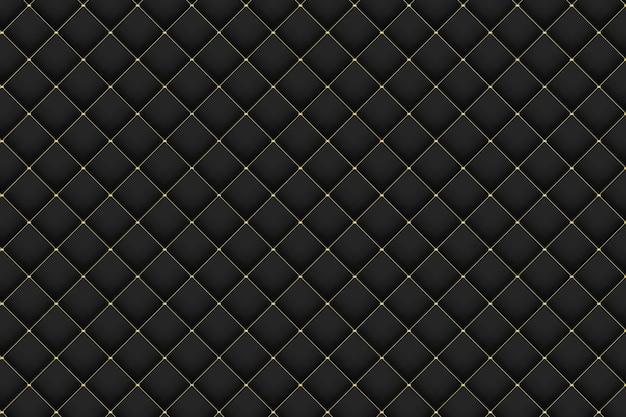Diseño de fondo de patrón de gradiente de oro y negro abstracto