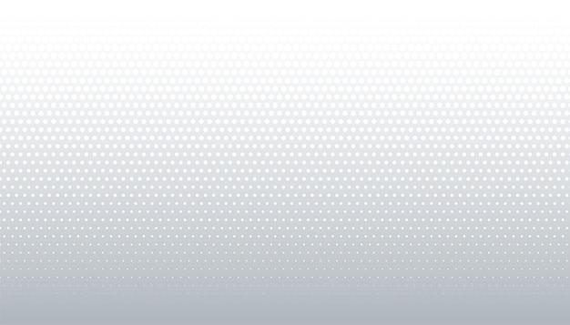 Diseño de fondo de patrón de semitono blanco