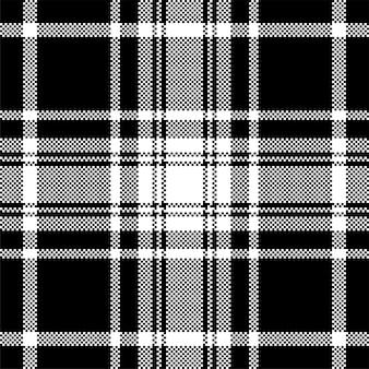 Diseño de fondo de píxeles. cuadros modernos de patrones sin fisuras. tejido de textura cuadrada. tartán escocés textil. adorno de belleza color madras.