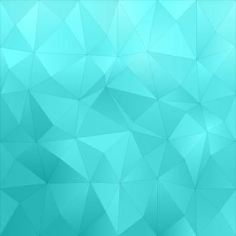 Diseño de fondo poligonal colorido