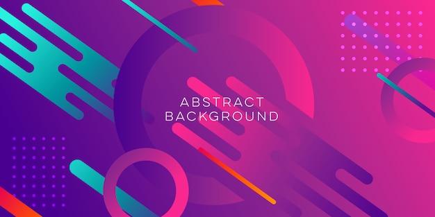 Diseño de fondo púrpura abstracto