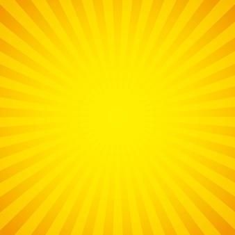 Diseño de fondo de sunburst, gráfico de vector ilustración eps10