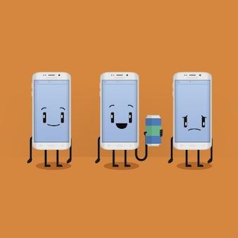 Diseño de fondo de teléfonos móviles