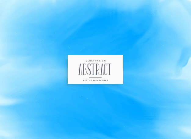 Diseño de fondo de textura de acuarela azul