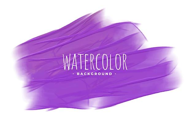 Diseño de fondo de textura de acuarela púrpura