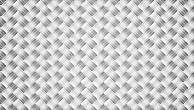 Diseño de fondo de textura de fibra de carbono gris abstracto