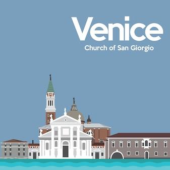 Diseño de fondo de venecia