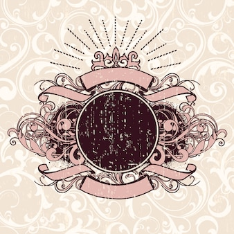 Diseño de fondo vintage