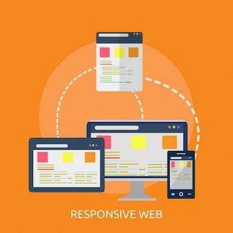 Diseño de fondo de web