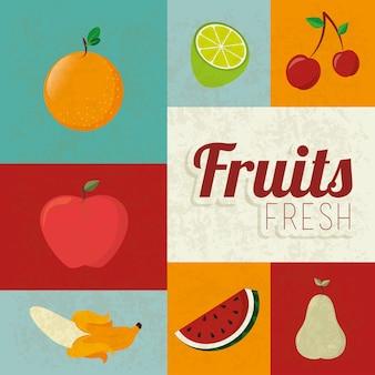Diseño de frutas