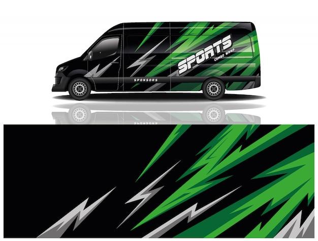 Diseño de furgoneta para empresa