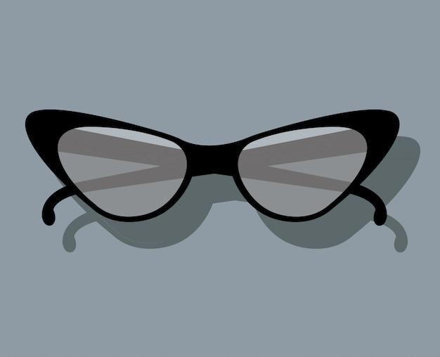 Diseño de gafas de sol femeninas
